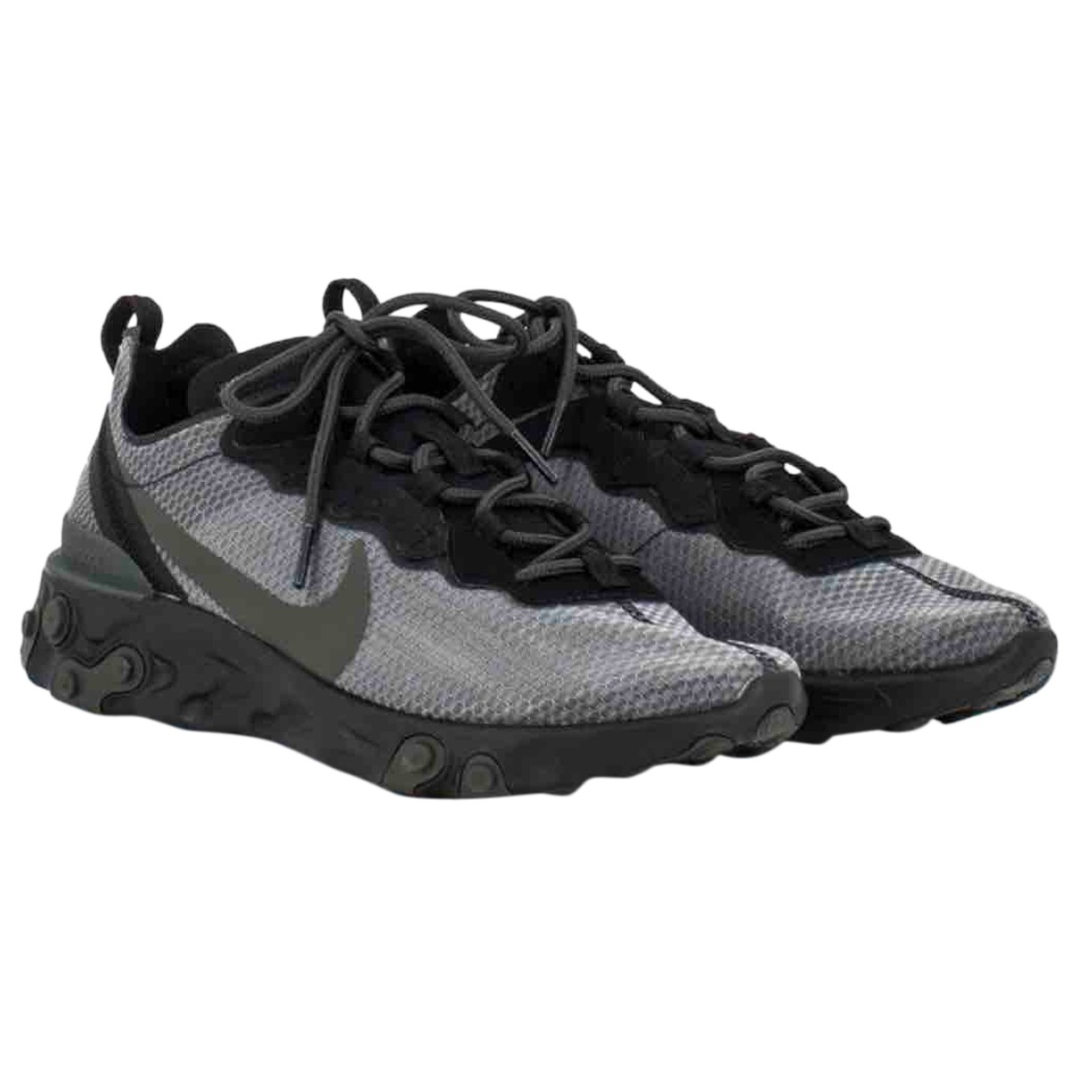 Nike React element 55 Sneakers in  Grau Leinen
