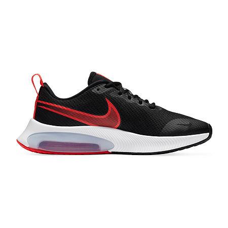 Nike Zoom Arcadia Boys Running Shoes, 4 1/2 Medium, Black