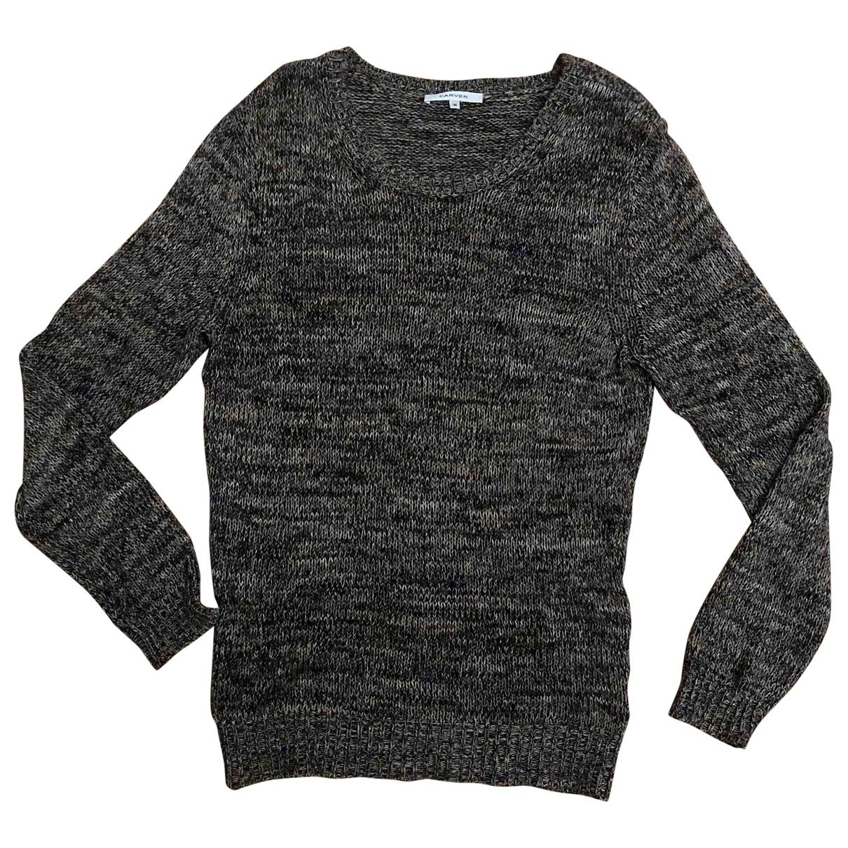 Carven \N Pullover.Westen.Sweatshirts  in  Bunt Baumwolle