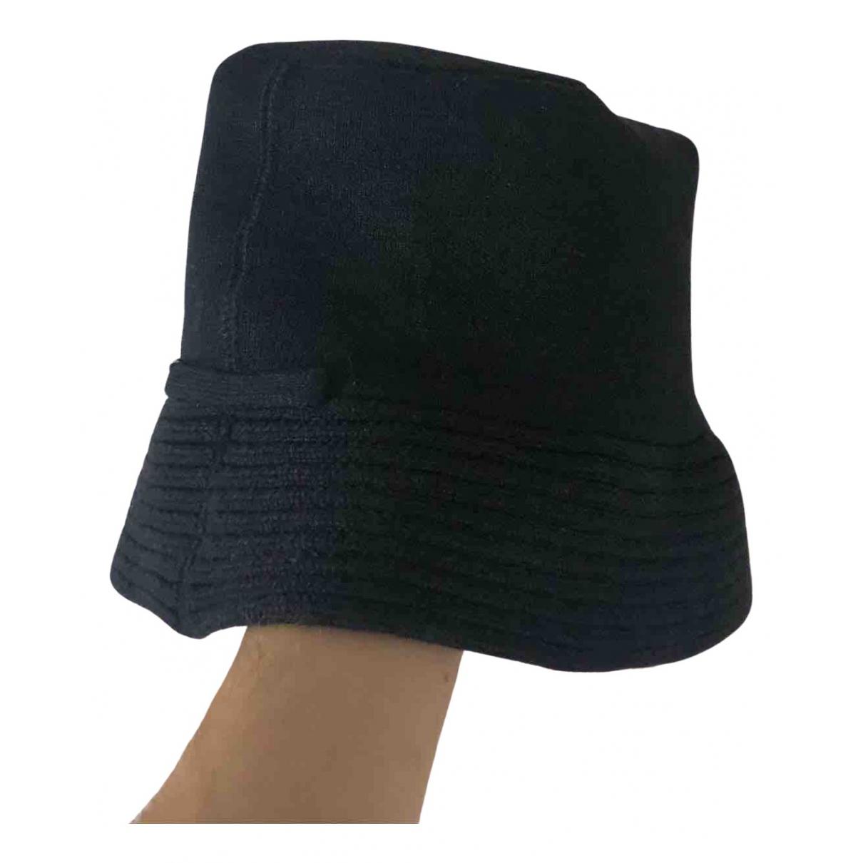 Jean Paul Gaultier - Chapeau & Bonnets   pour homme en lin - anthracite