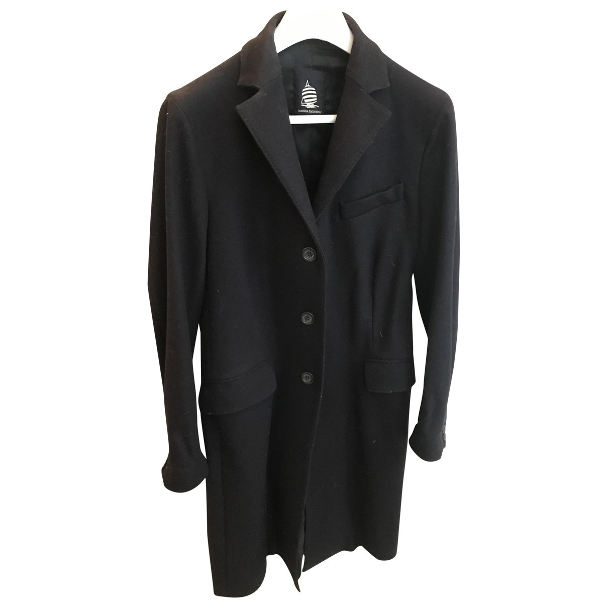 Marina Yachting \N Blue Wool coat for Women 46 IT