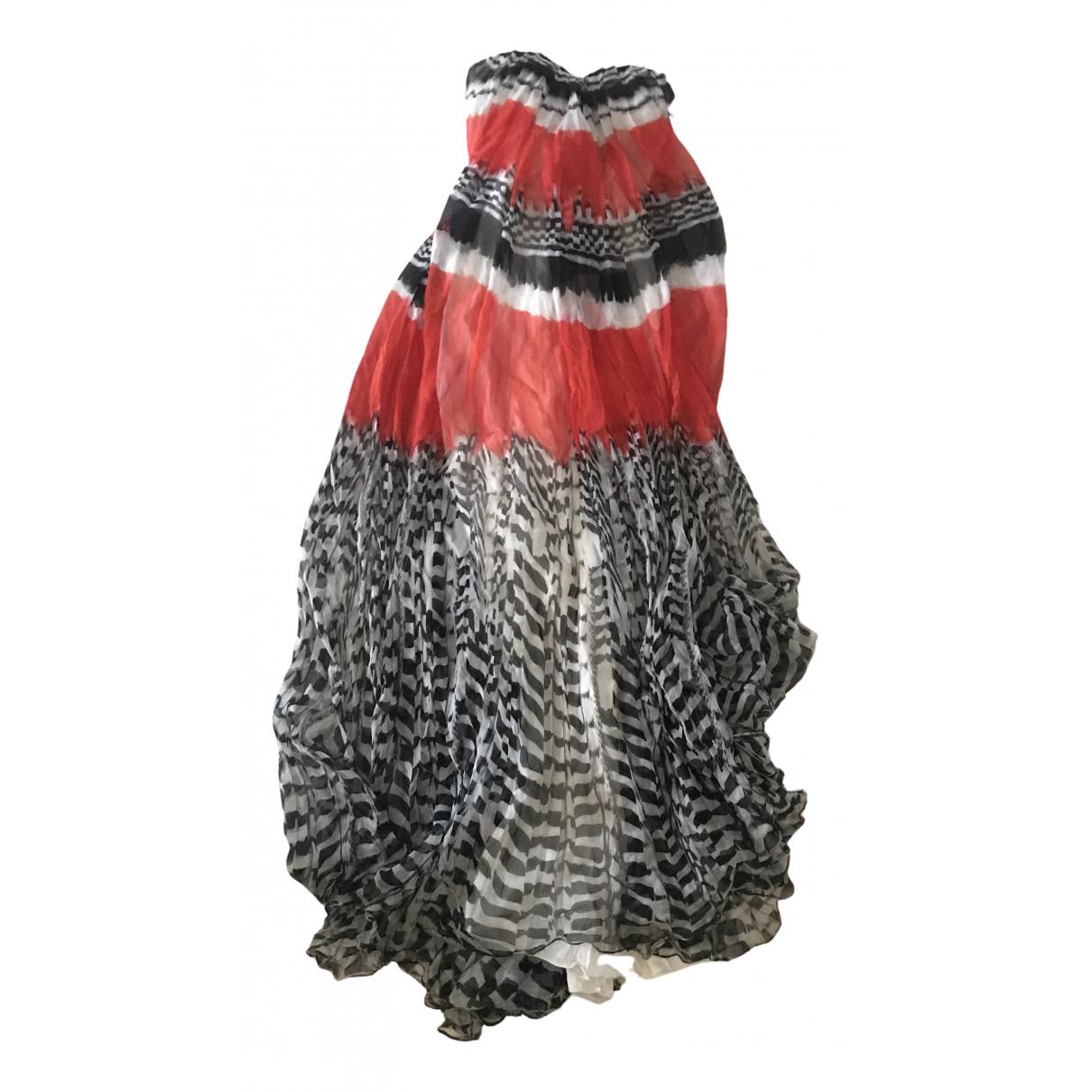 Alexander Mcqueen \N Multicolour Silk dress for Women 38 IT
