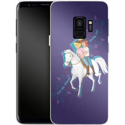 Samsung Galaxy S9 Silikon Handyhuelle - Bibi und Tina Pferd von Bibi & Tina