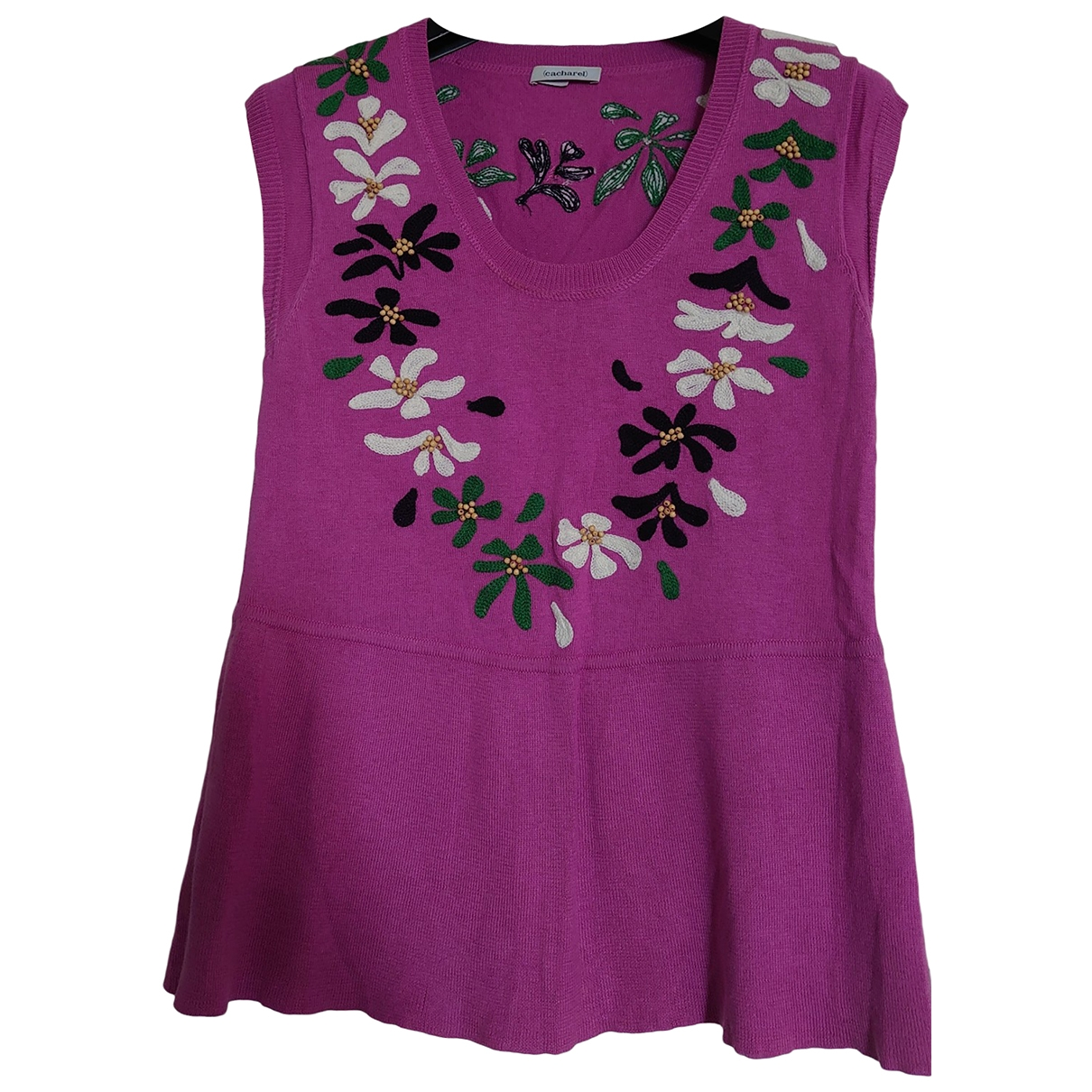 Cacharel \N Purple Cotton  top for Women 38 FR