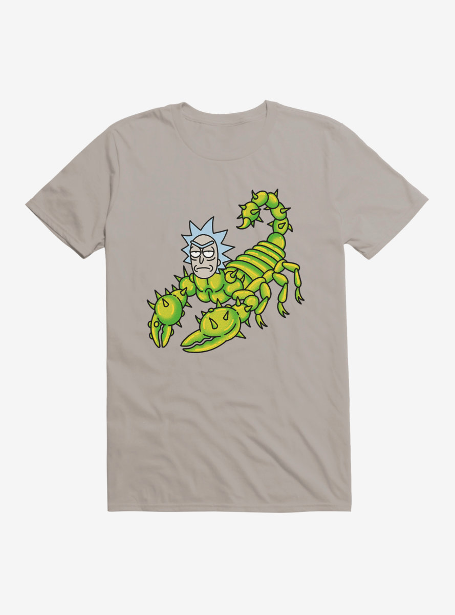 Rick And Morty Scorpion Rick T-Shirt
