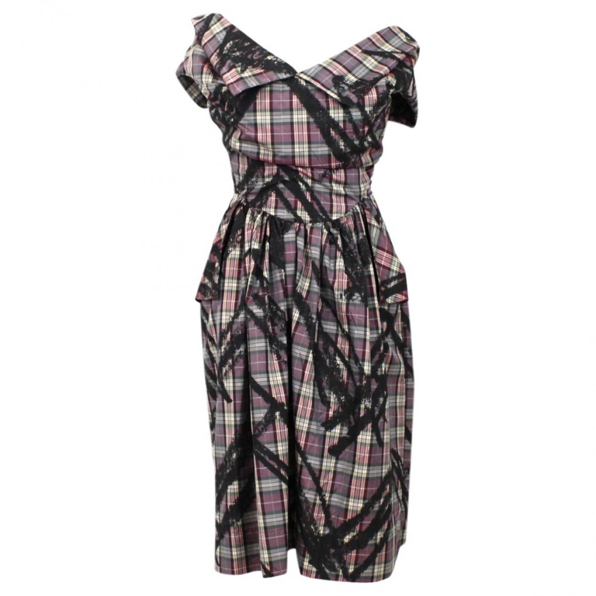 Vivienne Westwood Anglomania \N Purple dress for Women 40 IT