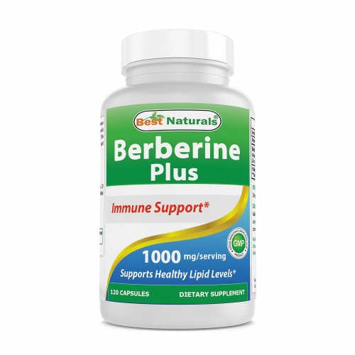 Berberine Plus 120 Caps by Best Naturals