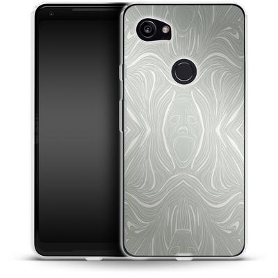 Google Pixel 2 XL Silikon Handyhuelle - Ghoul Pattern von caseable Designs