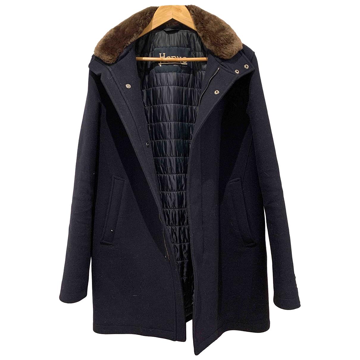 Herno \N Brown Wool coat  for Men M International