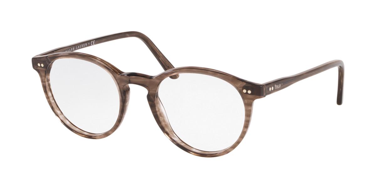 Polo Ralph Lauren PH2083 5822 Men's Glasses Brown Size 48 - Free Lenses - HSA/FSA Insurance - Blue Light Block Available
