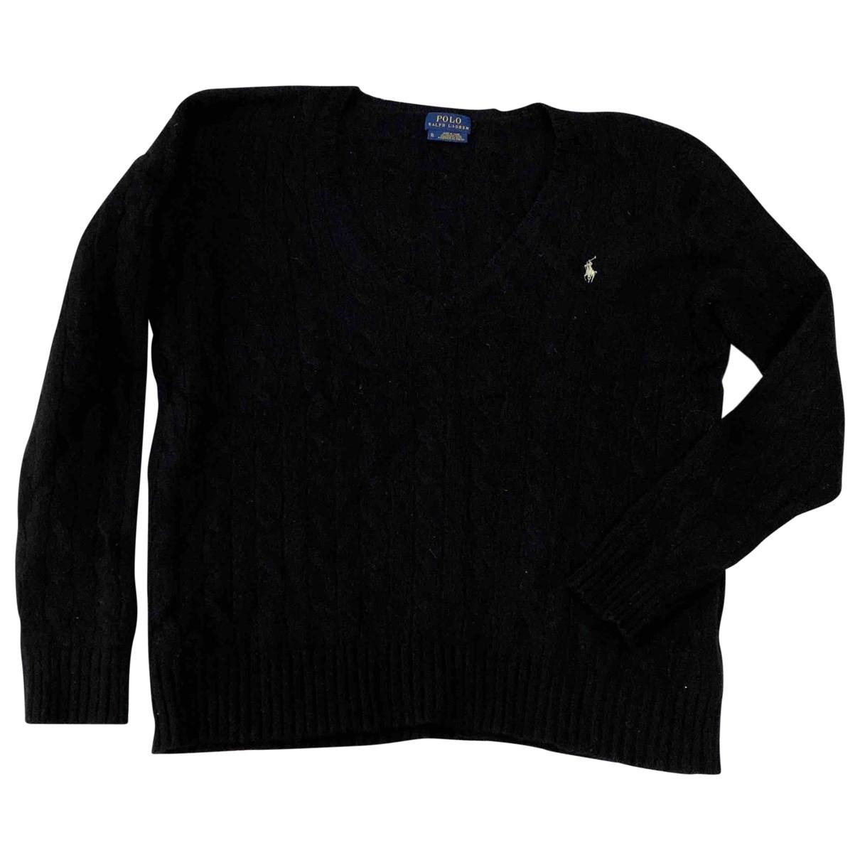 Polo Ralph Lauren \N Pullover in  Schwarz Kaschmir