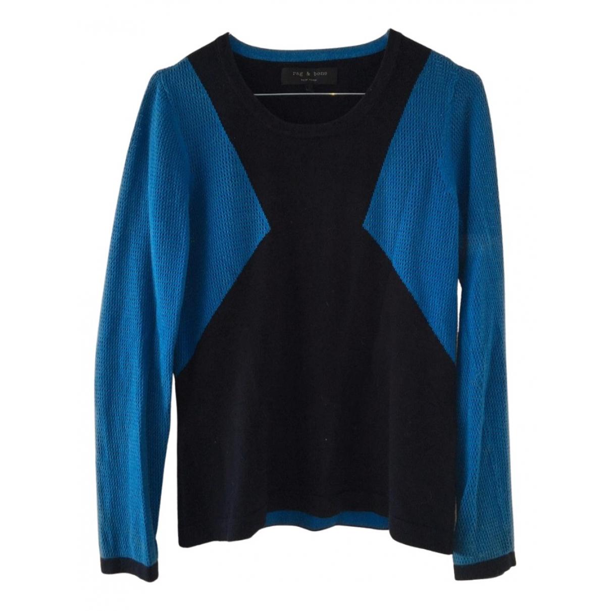 Rag & Bone \N Pullover in  Blau Baumwolle