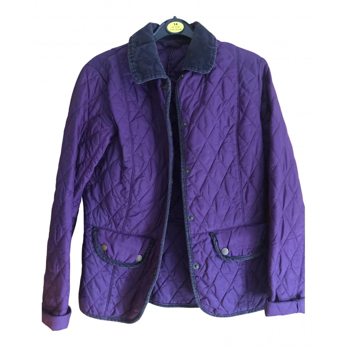 Barbour - Manteau   pour femme - violet
