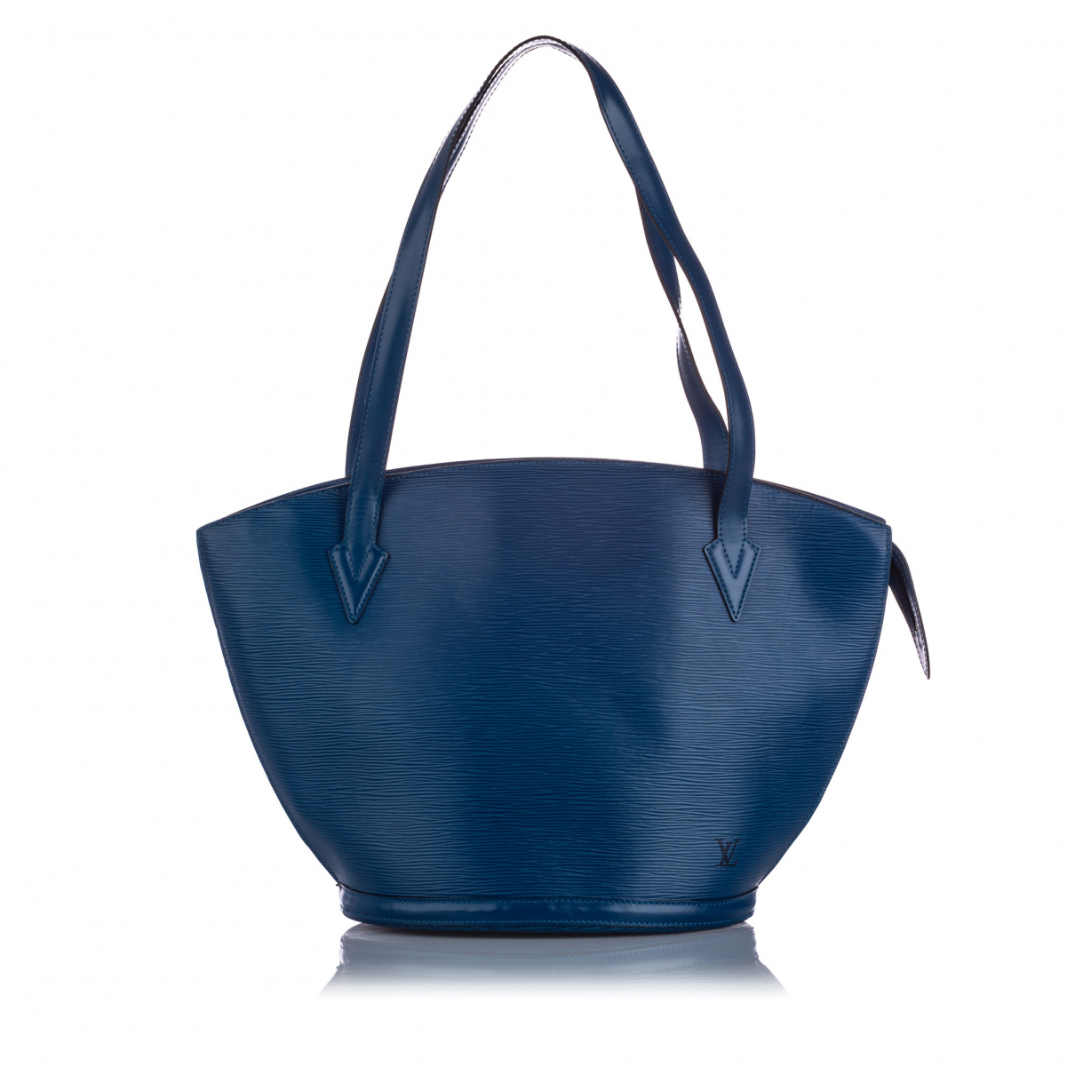 Louis Vuitton \N Blue Leather handbag for Women \N