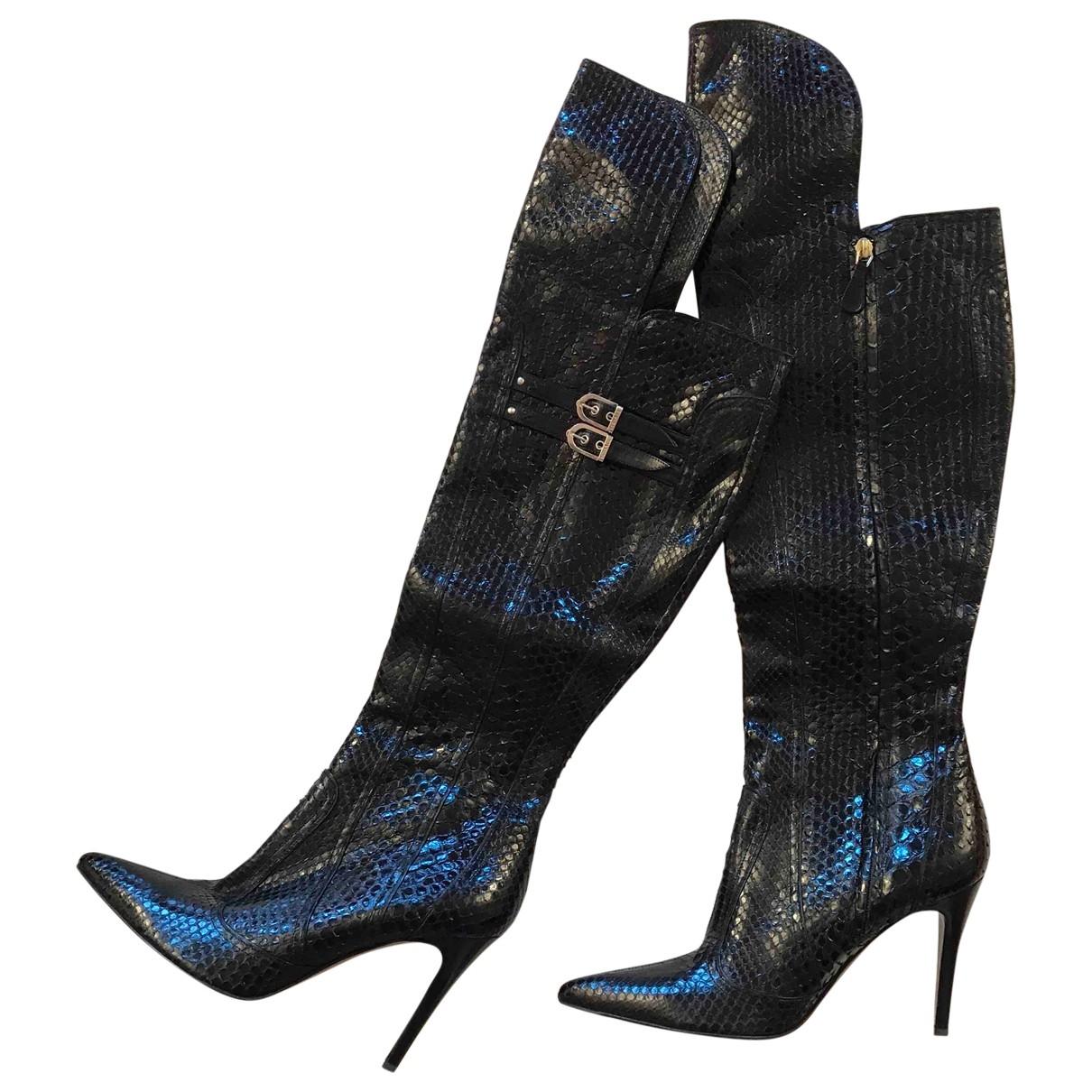 Botas de Cocodrilo Versace