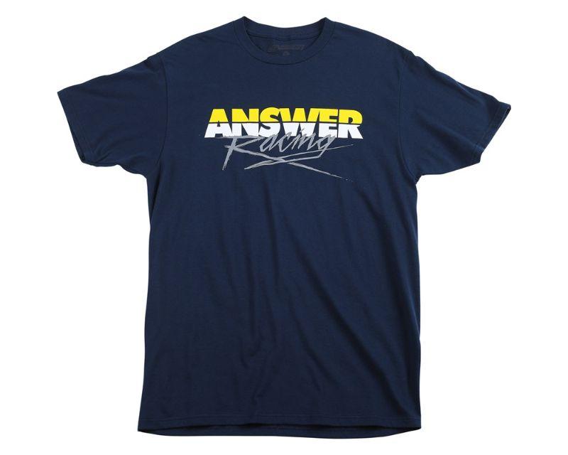 Answer 445103 Pro Glow T-Shirt Navy XL