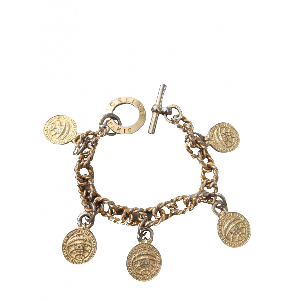 Celine \N Armband in  Gold Vergoldet