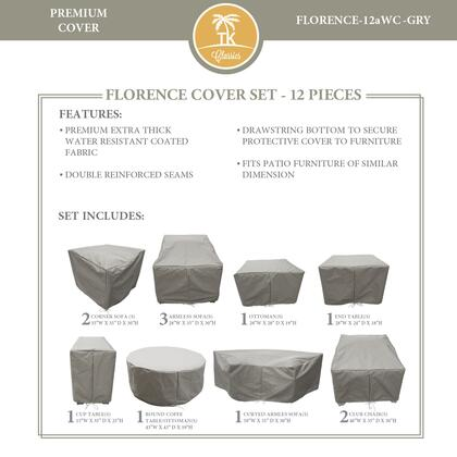 FLORENCE-12aWC-GRY Protective Cover Set  for FLORENCE-12a in