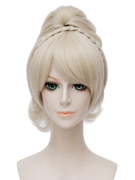 Milanoo Final Fantasy XV Lunafrena Nox Fleuret Luna Caelum Cosplay Wig Halloween