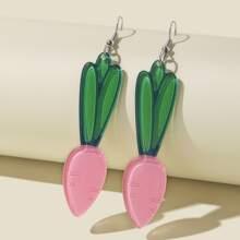 Ohrringe mit Karotte Design