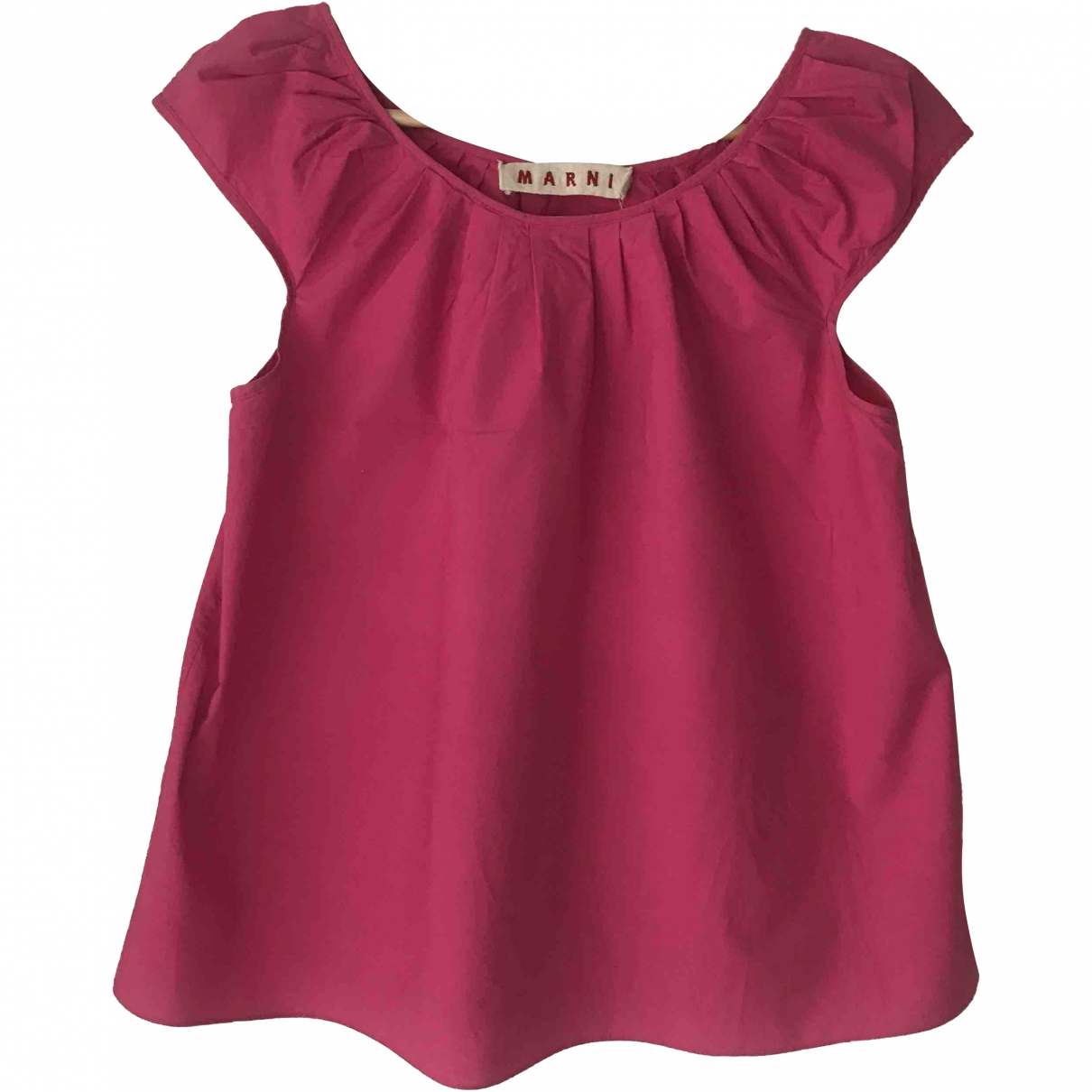 Marni \N Pink Cotton  top for Women 38 IT