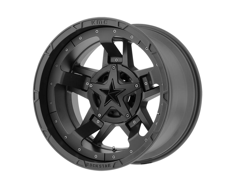 XD Series XD82721235744N XD827 Rockstar III Wheel 20x12 5x5x127/5x139.7 -44mm Matte Black