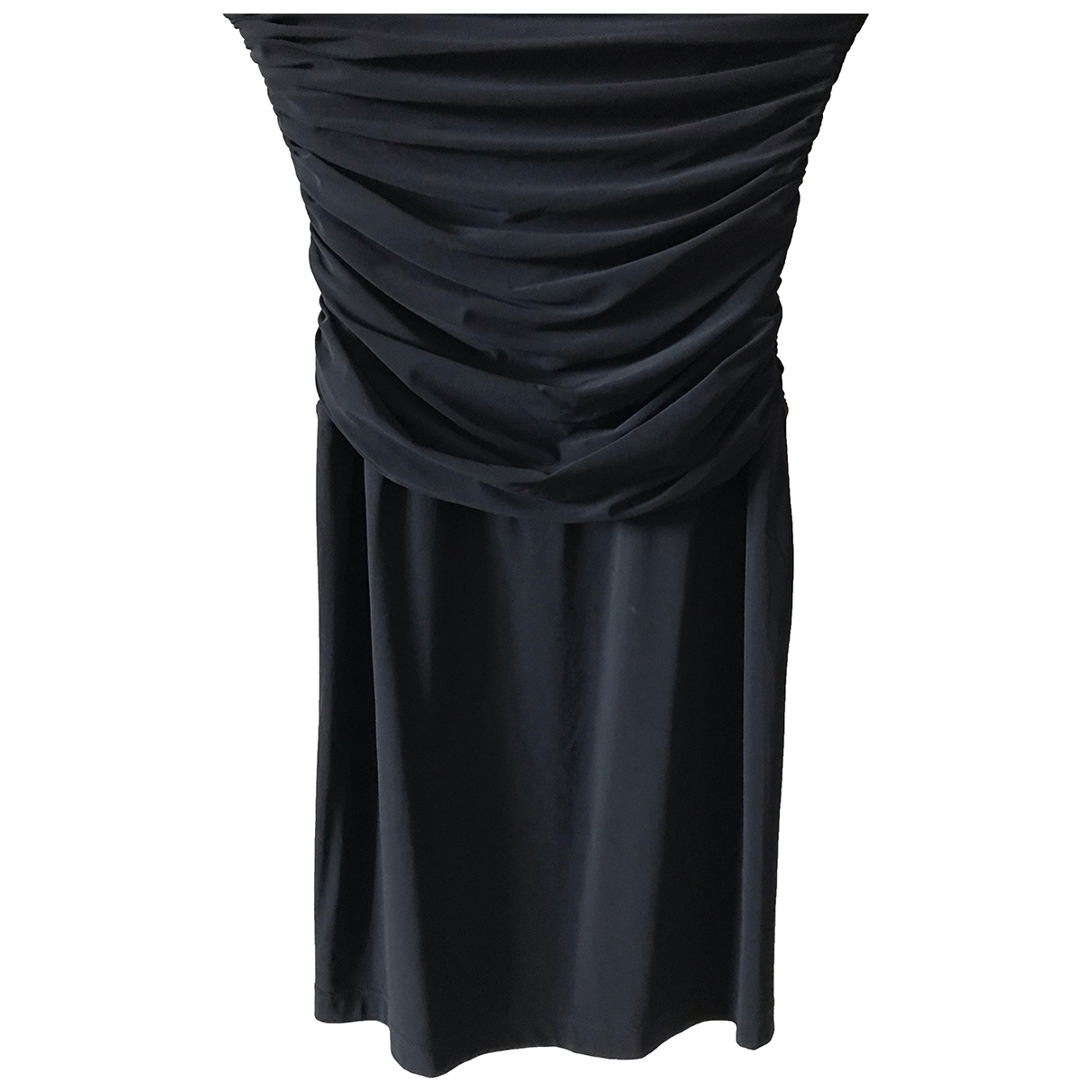 Tara Jarmon \N Kleid in  Schwarz Synthetik