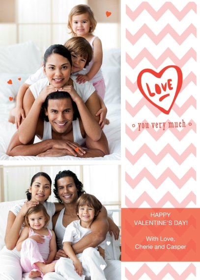 Valentine's Cards 5x7 Folded Cards, Premium Cardstock 120lb, Card & Stationery -Handwritten Love Note