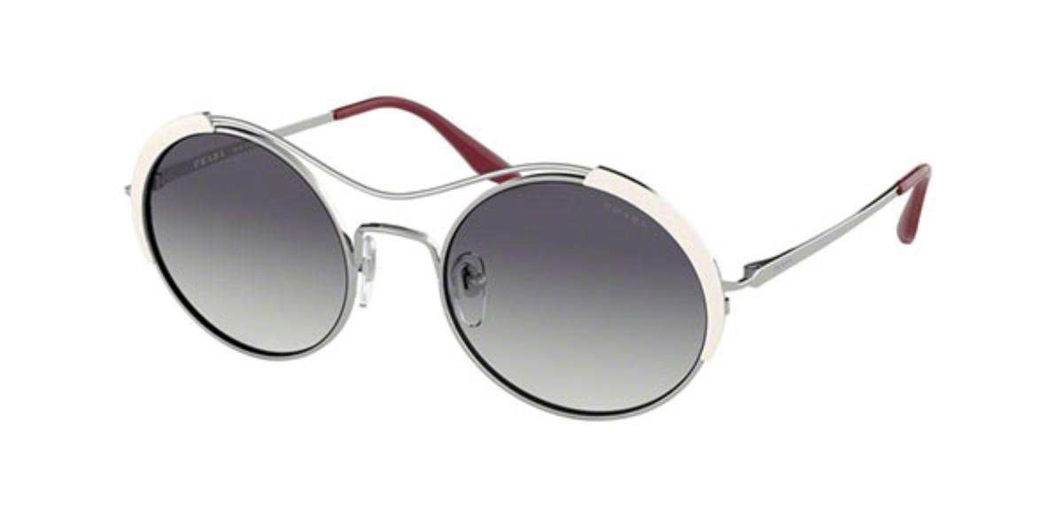 Prada PR55VS 406409 Women's Sunglasses White Size 53