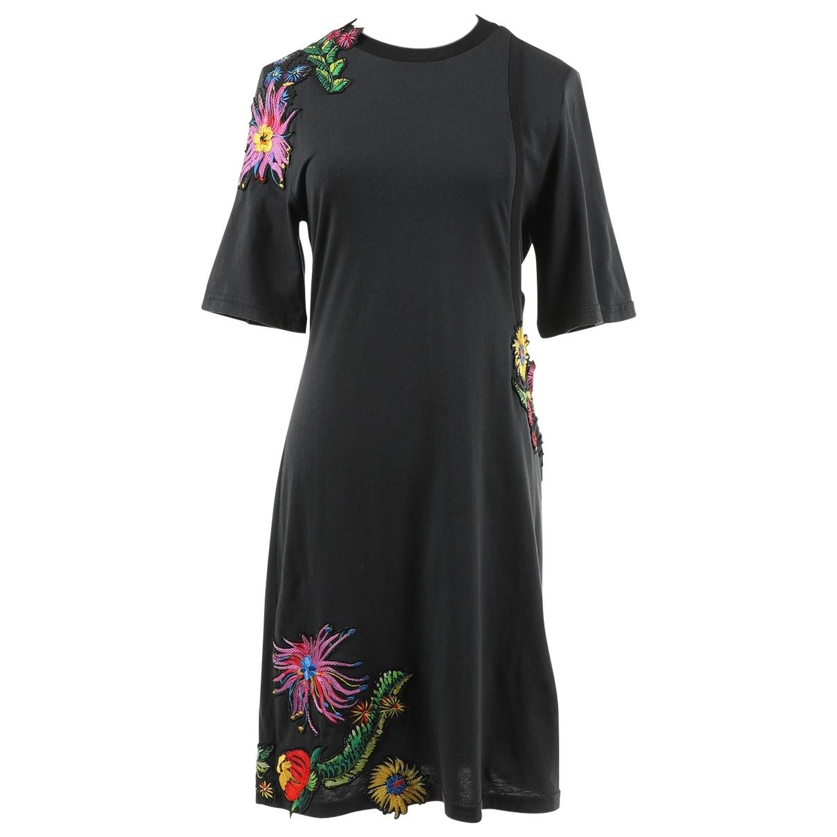 3.1 Phillip Lim \N Kleid in  Schwarz Baumwolle