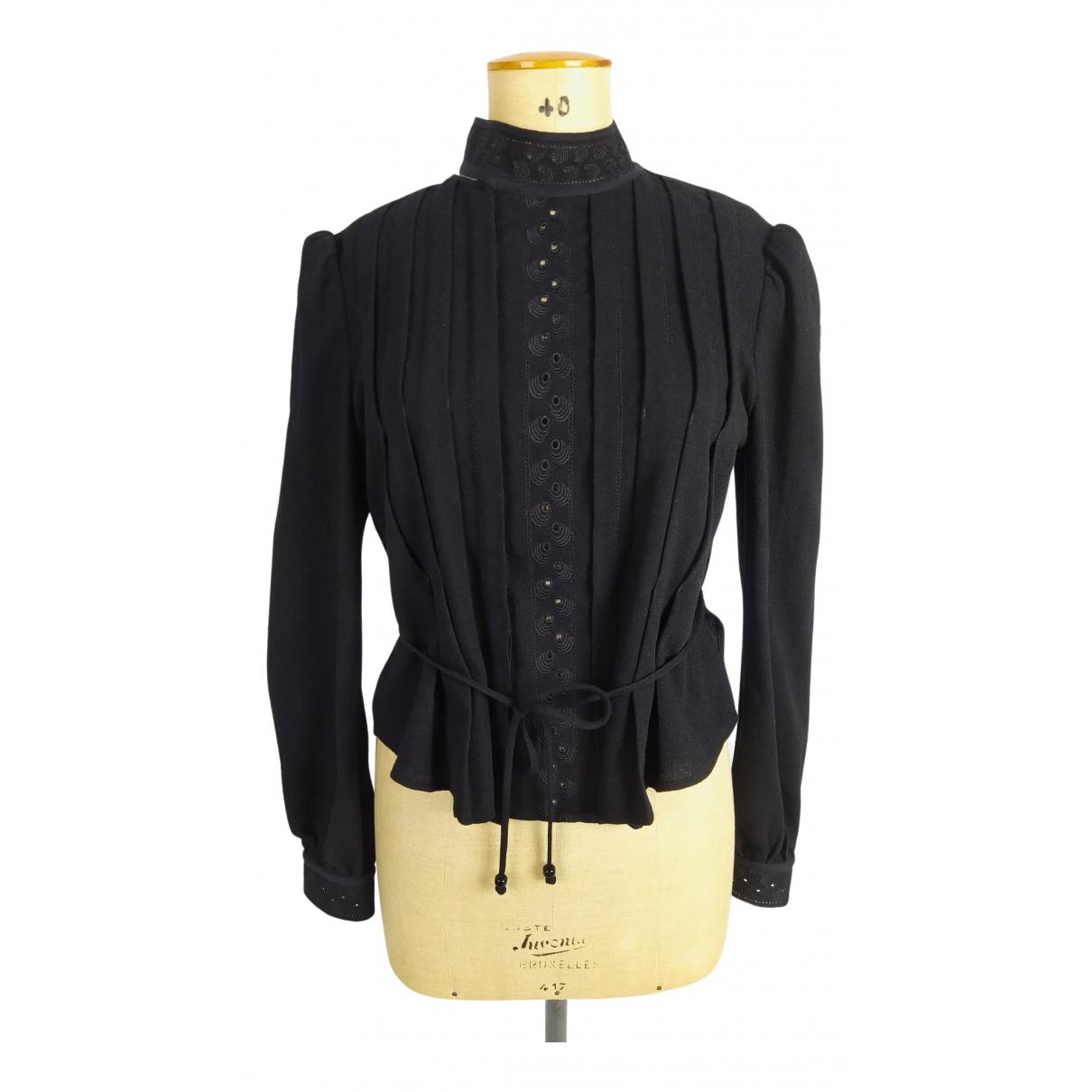 See By Chloe - Top   pour femme en laine - noir
