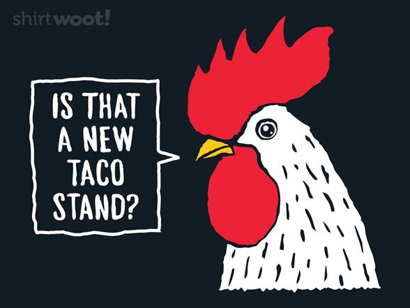 Chicken Crossing T Shirt
