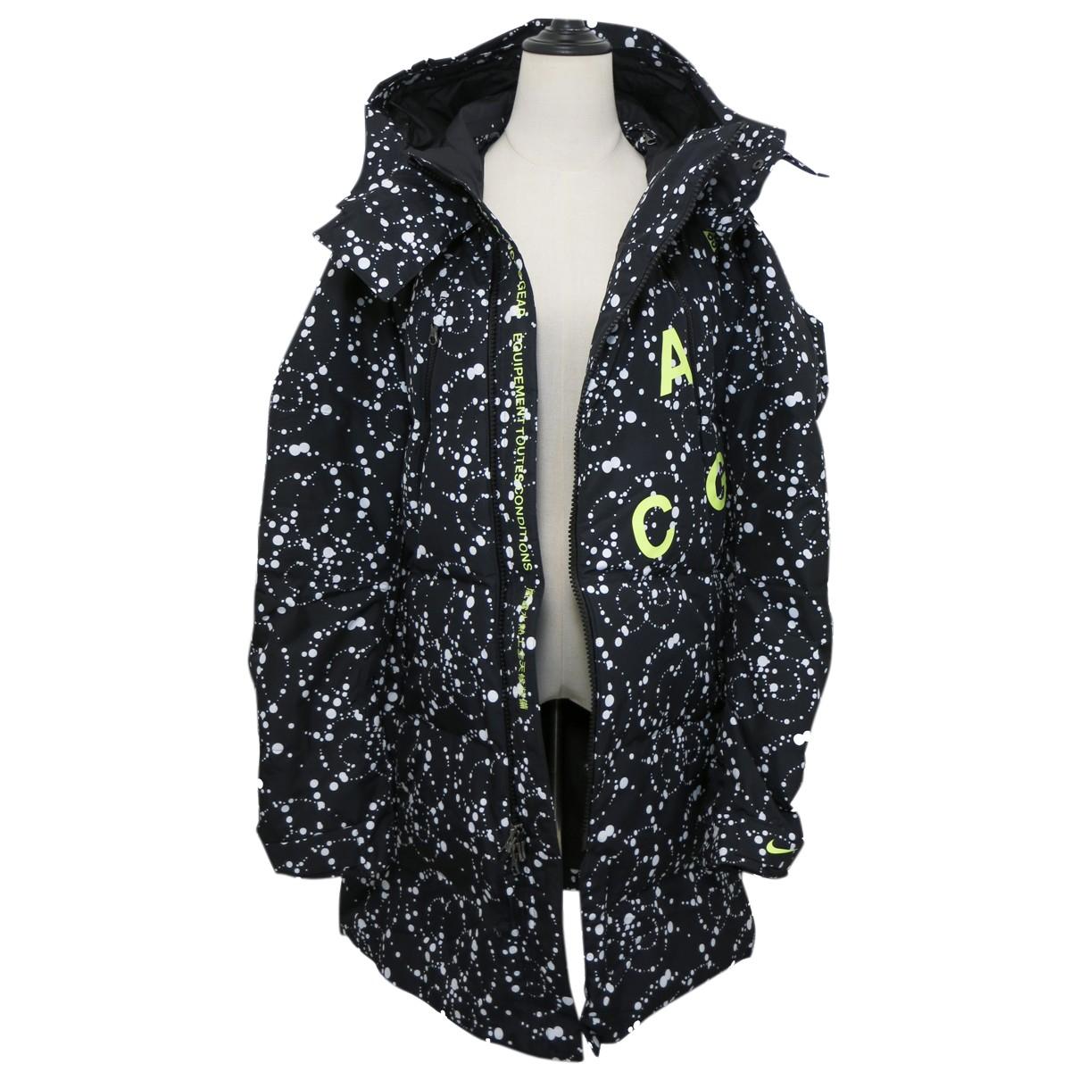 Nike Acg \N Jacke in  Schwarz Polyester