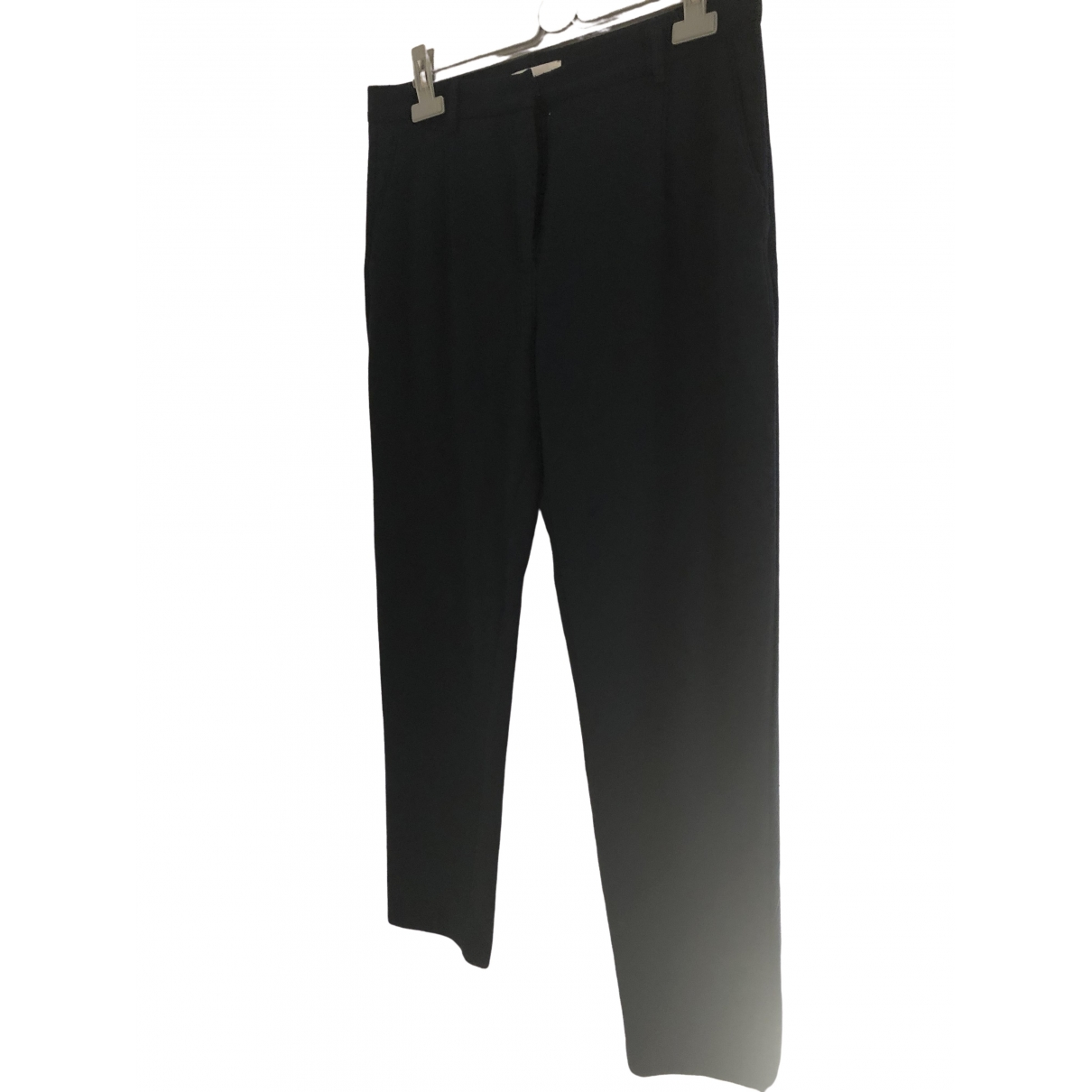 Samsoe & Samsoe \N Navy Trousers for Women L International