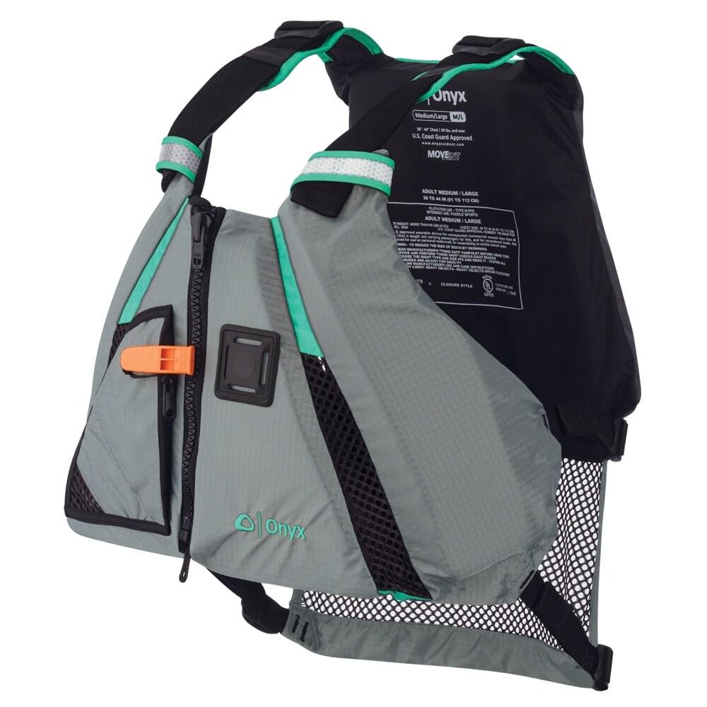 Onyx MoveVent Dynamic Paddle Sports Life Vest - M/L - Aqua