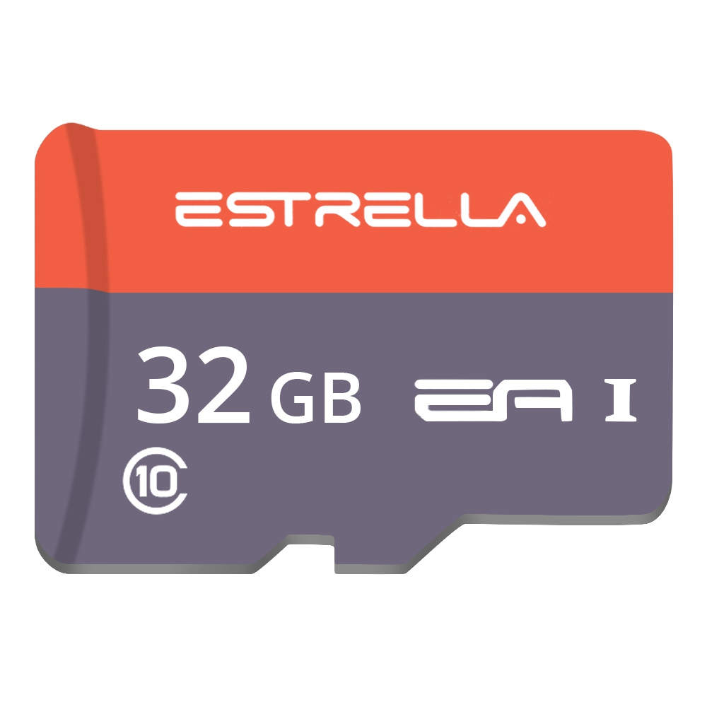 ESTRELLA Class10 SDHC Micro SD External Memory Card TF Card Rooster Year Edition for Phones Tablets - 32GB