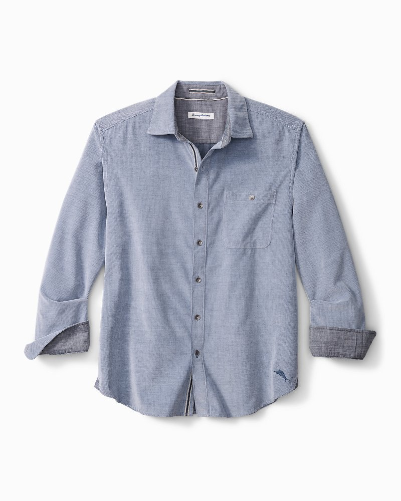 Big & Tall Coastline Corduroy Sandwash Shirt