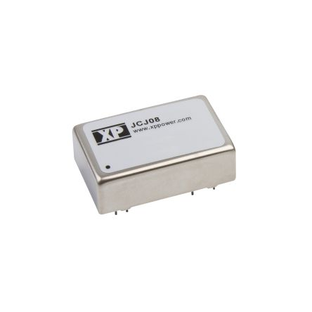 XP Power JCJ 8W Isolated DC-DC Converter Through Hole, Voltage in 18 → 36 V dc, Voltage out 12V dc