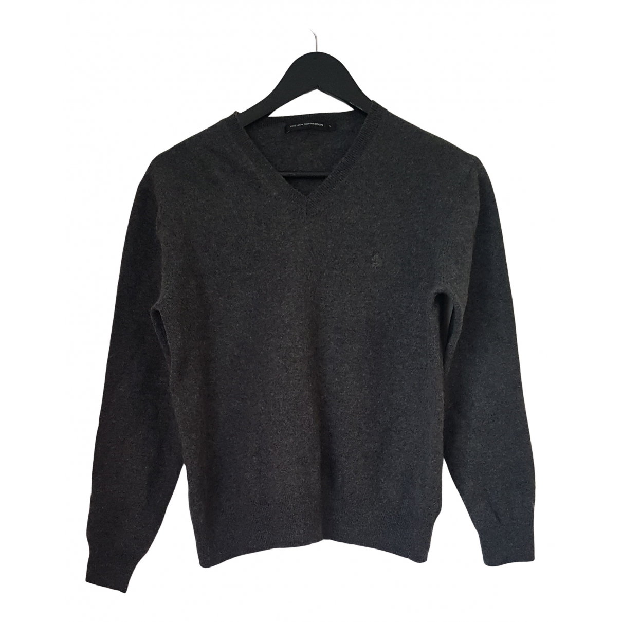 French Connection N Anthracite Wool Knitwear for Women L International