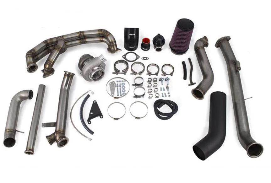 ETS 08-14 Subaru STI Turbo kit Standard Turbo Kit Stock MAF V-Band Up-Pipe Connection GTX3582R Gen 2 Vband
