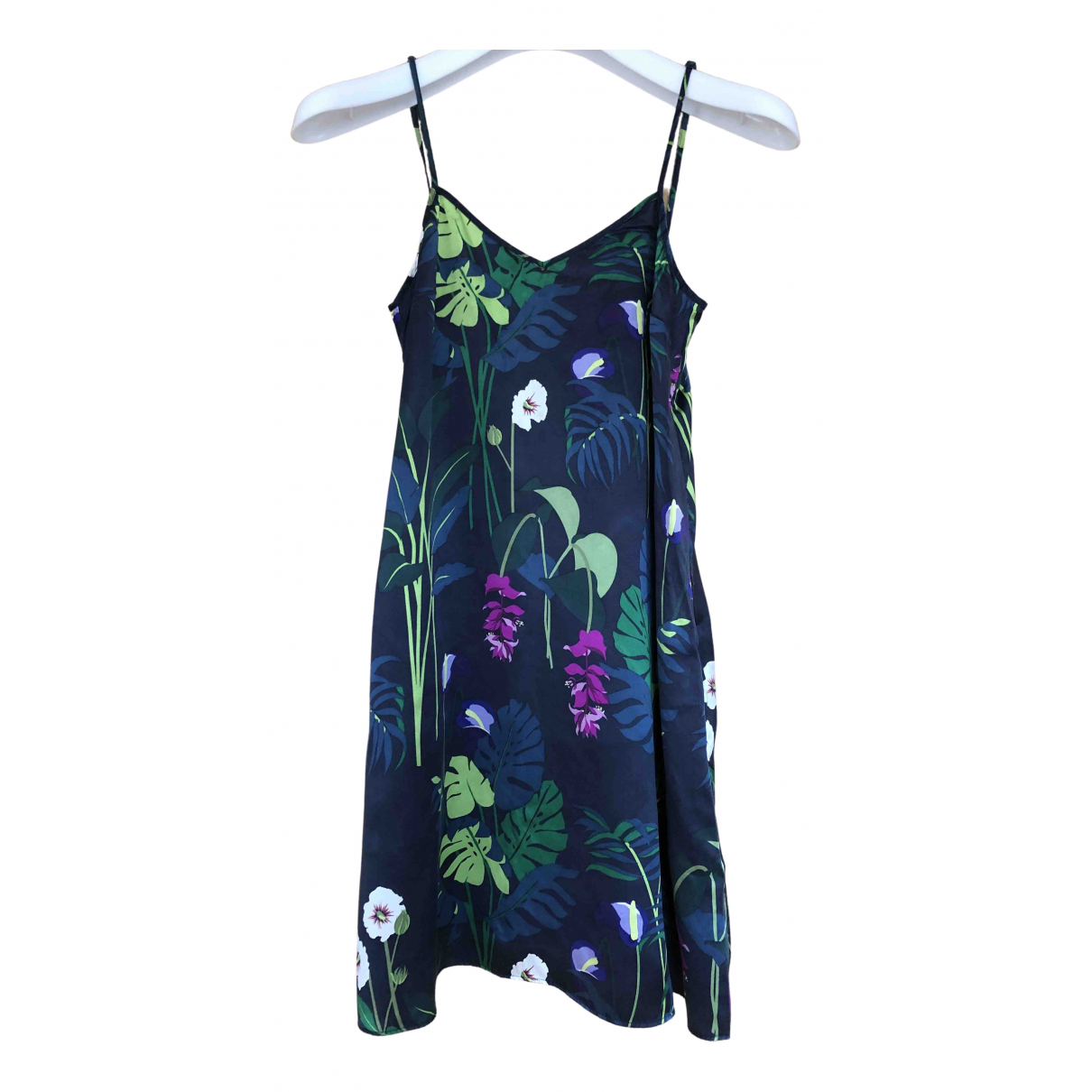 Mini vestido de Seda Olivia Von Halle
