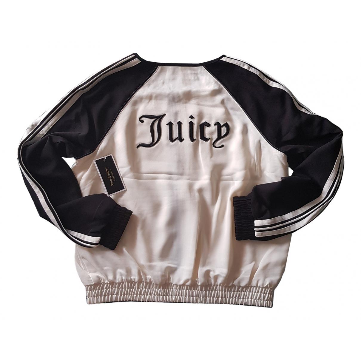 Juicy Couture - Blouson   pour femme - ecru