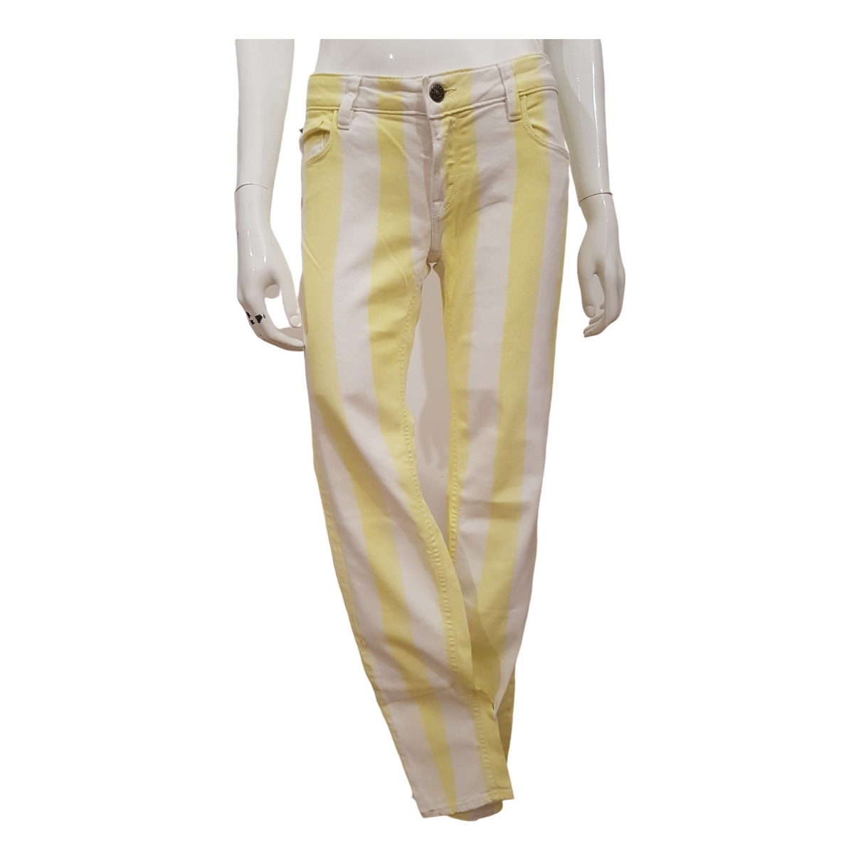 Cycle \N White Denim - Jeans Trousers for Women S International