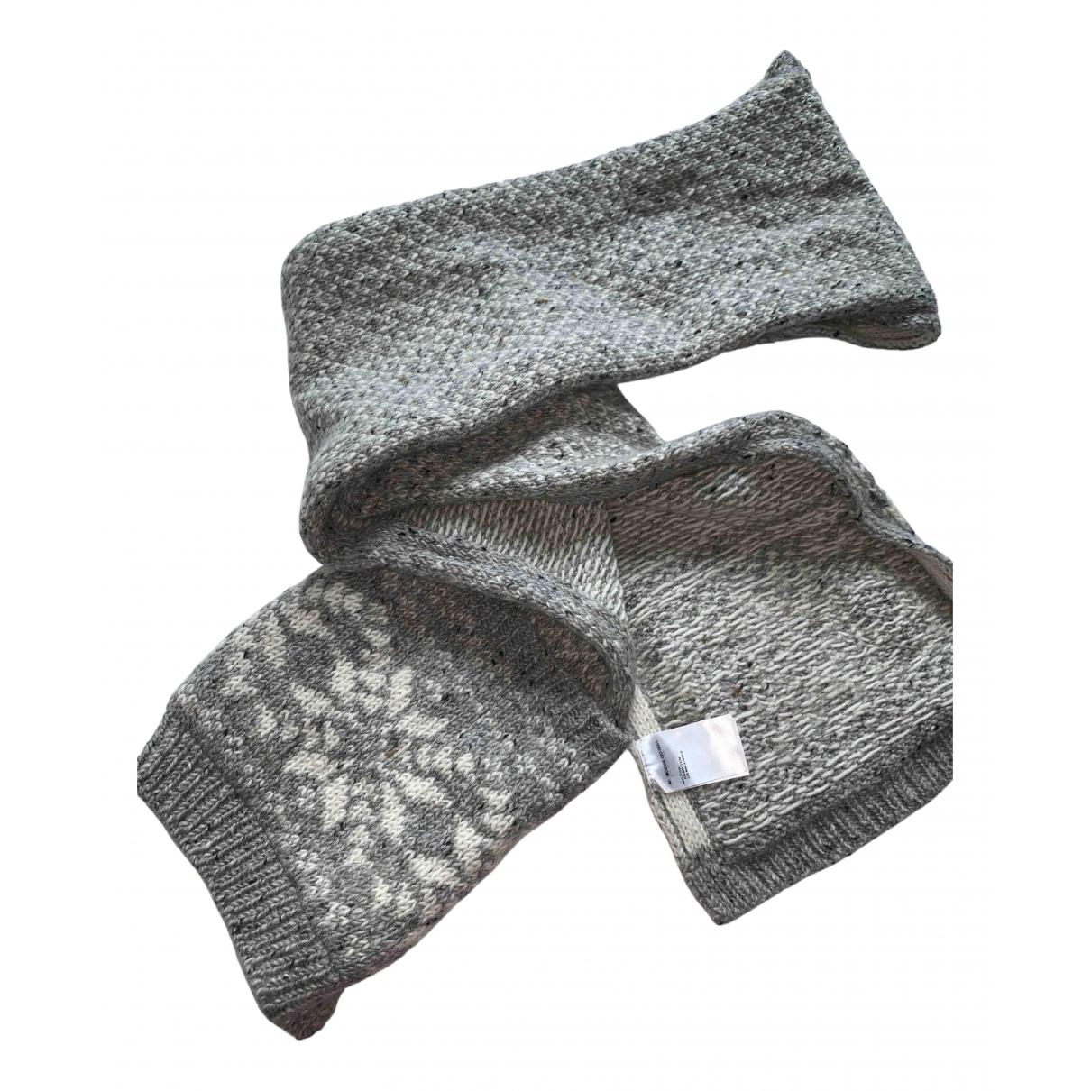 Thom Browne - Cheches.Echarpes   pour homme en laine - gris