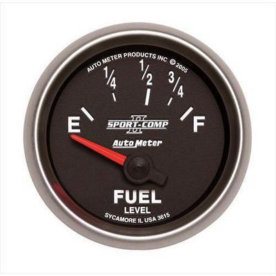 Auto Meter Sport-Comp II Electric Fuel Level Gauge - 7615