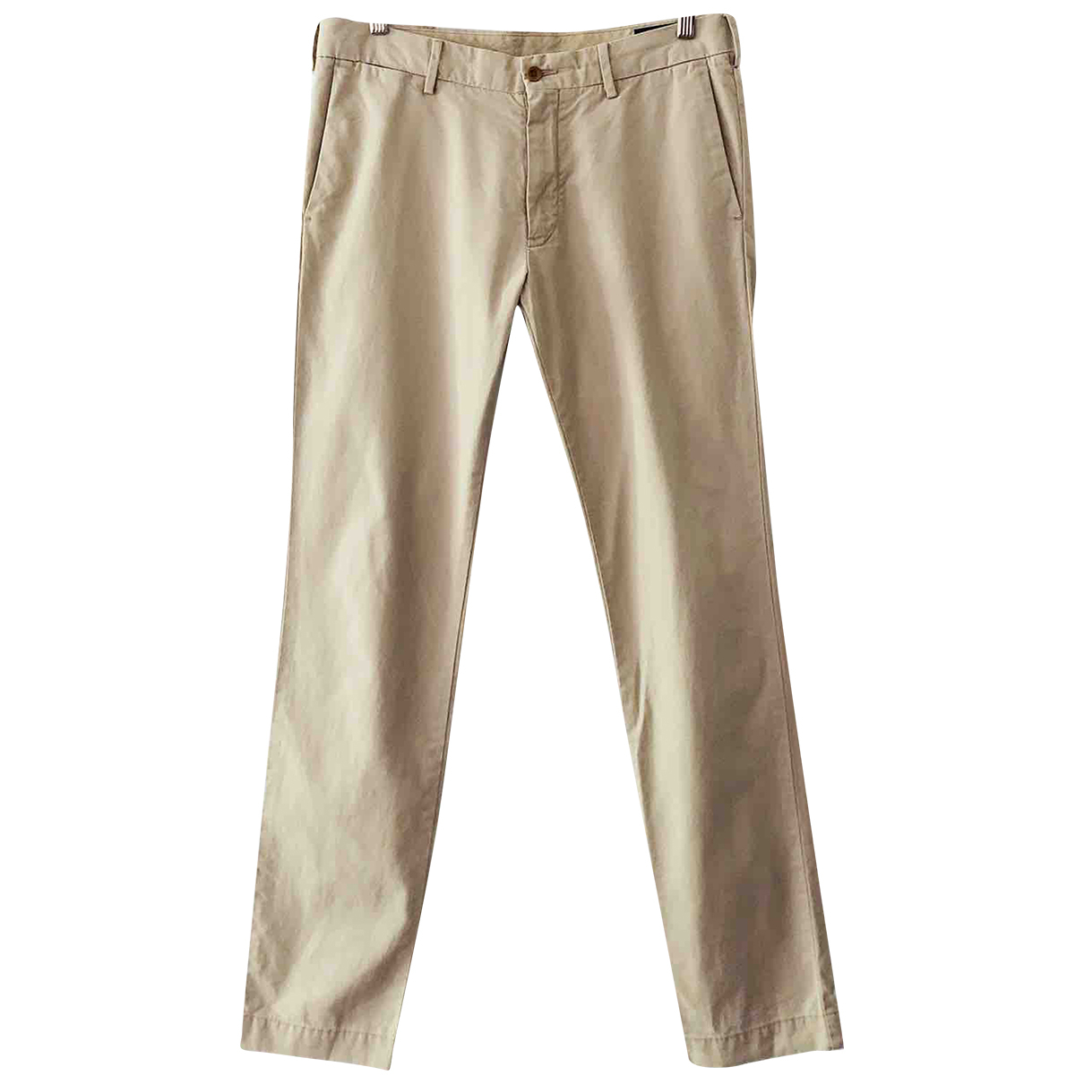 Polo Ralph Lauren \N Beige Cotton Trousers for Men 32 UK - US