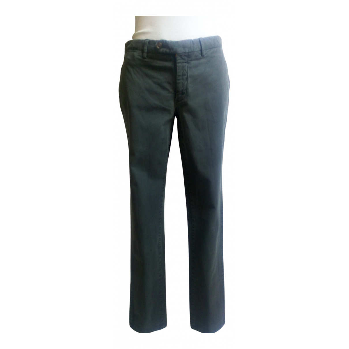 Burberry \N Grey Cotton Trousers for Women M International