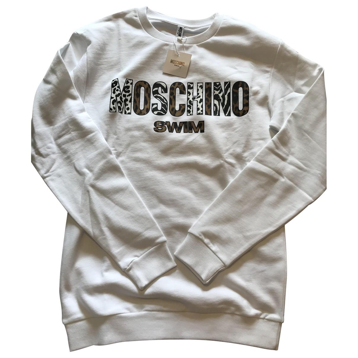 Moschino \N White Cotton Knitwear & Sweatshirts for Men S International