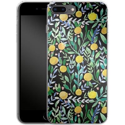 Apple iPhone 8 Plus Silikon Handyhuelle - Bright Blossoms von Iisa Monttinen