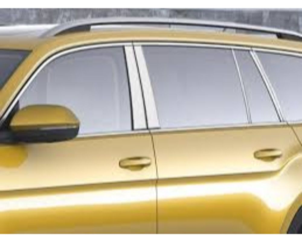 Quality Automotive Accessories Stainless Steel Pillar Post TrimVolkswagen Atlas 18-20